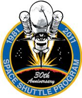 SPACE SHUTTLE 30th ANNIVERSARY PIN (Official NASA Edition)